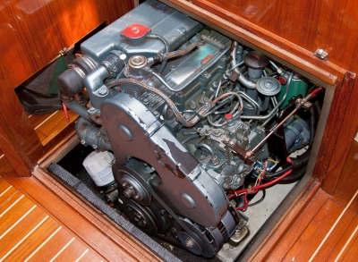 Yacht on delivery engine