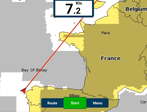 Biscay yacht delivery